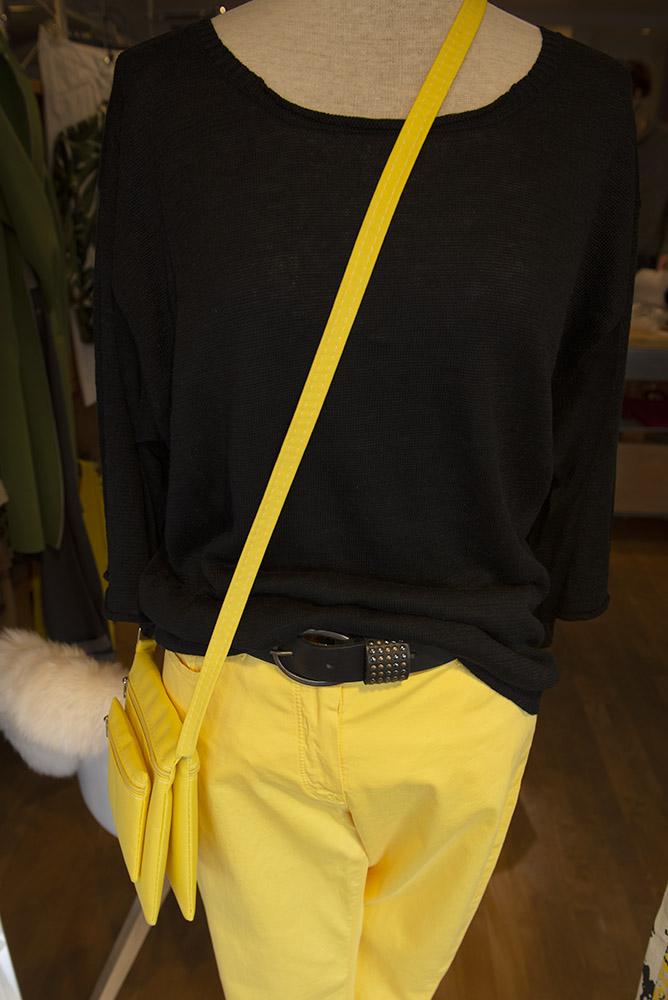 Tanja Jablonski Shop Damenmode Mode Dreieich Cadigan Trendfarbe Gelb