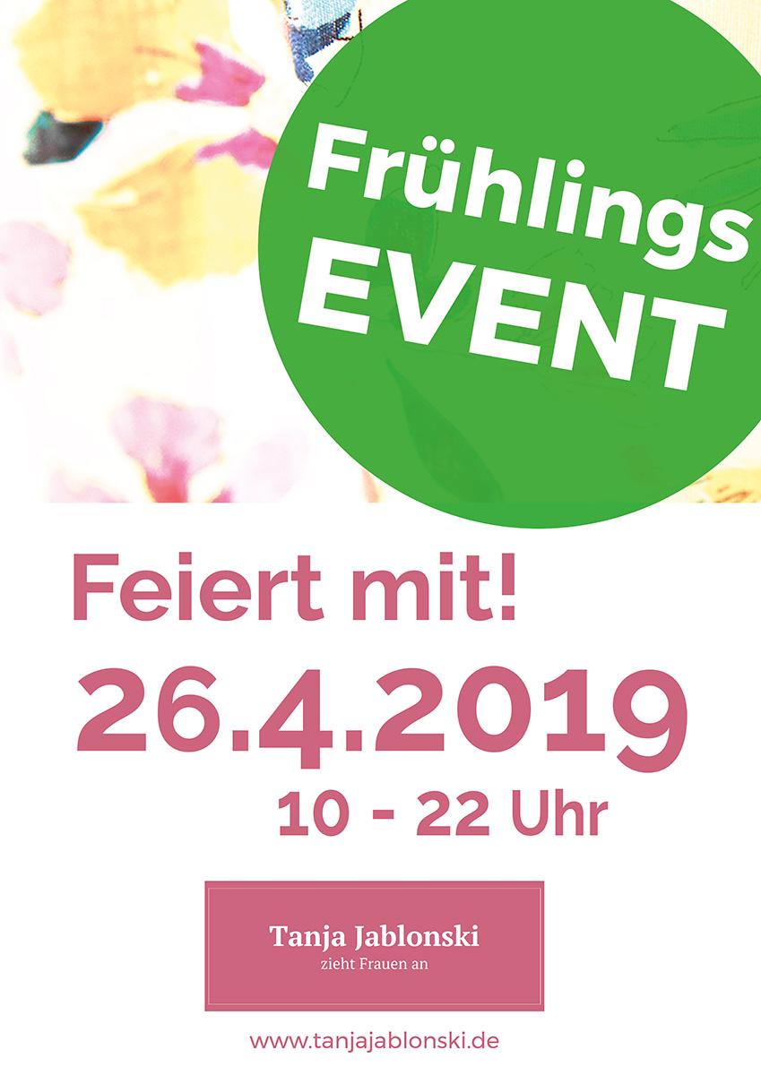 Tanja Jablonski Dreieich Event zur Frühlings Event Sommer Mode 2019