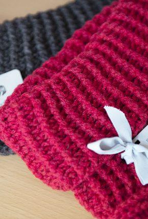 Tanja Jablonski Mode Dreieich Schal Strick Handmade