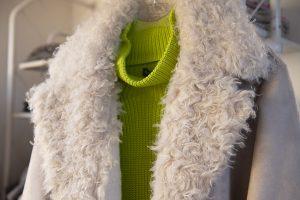 Tanja Jablonski Damenmode Winterjacke Leder Beige Einzelhandel Dreieich