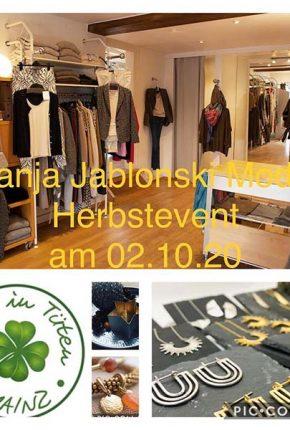Tanja Jablonski Mode Dreieich Herbst Event Schmuck MYMIGMA Glück in Tüten