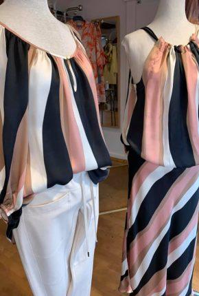 Tanja Jablonski Mode für Damen Dreieich Seide Rock Bluse Hose