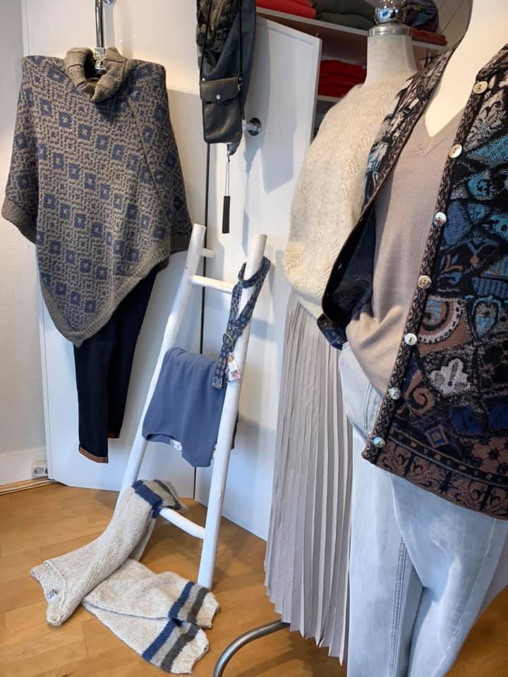 Tanja Jablonski Mode Dreieich Herbst Kollektionen Jacke Strickjacke